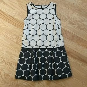 LOFT • Drop Waist Silk Blend Sleeveless Dress